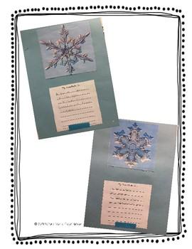 Snowflake Similes: A CCSS Figurative Language Craftivity for Grades 3-5