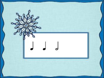 Snowflake Smash - Round 2 (Half Note/Half Rest)