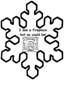 Snowflake, Snowflake, What Do You See? Winter Vocabulary