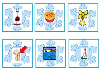 Snowflake Sounds - A chilly winter sound counting game