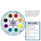 Snowflake Spins Toddler Literacy Science Center Color Recognition