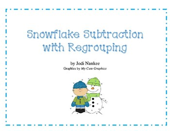 Snowflake Subraction with Regouping