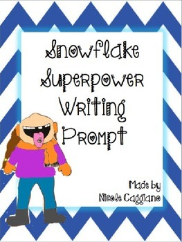 Snowflake Superpower Creative Winter Writing Prompt