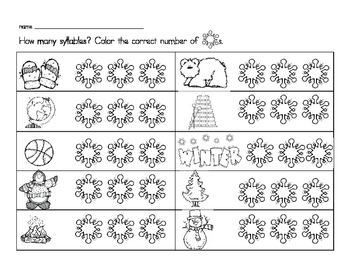Snowflake Syllables