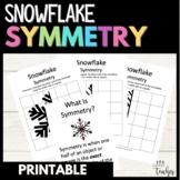 Snowflake Symmetry Activity