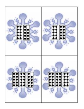 Snowflake Ten Frames