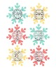 ABC Snowflake Tracers (Uppercase)