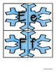 Snowflake Uppercase / Lowercase Alphabet Match -  RF.K.1d