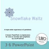 Snowflake Waltz - POWERPOINT