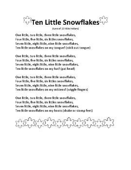 Snowflake Winter Free Songs