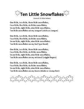 Snowflake Winter Free Songs