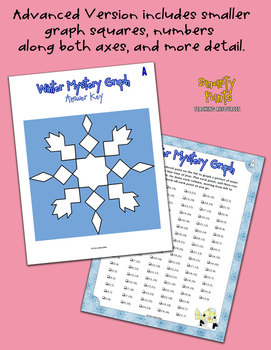 Snowflake Winter / Holiday Mystery Graph