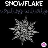 Snowflake Writing Activity