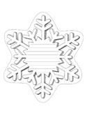 Snowflake Writing Template 2