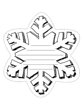 Snowflake Writing Template