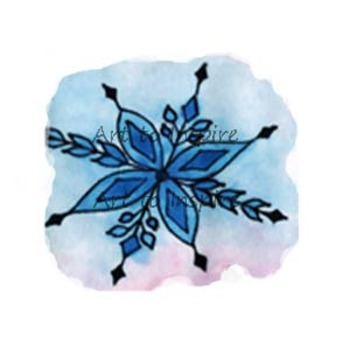 Winter--Snowflake clipart--personal use