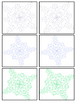 Snowflake matching card game {{3 levels of play!}}