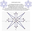 Snowflake slopes & coordinate graphing