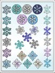 Snowflakes Clipart (5 FREE Elements Included) Embellish Yourself Artworks