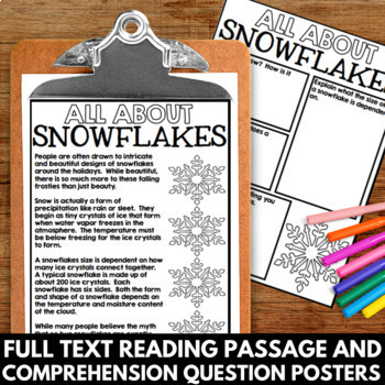 Snowflake Unit Information and Poster Project