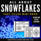 Snowflakes Unit Mini Booklet