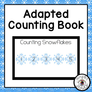 Snowflakes Adapted Book Counting 1 to 5