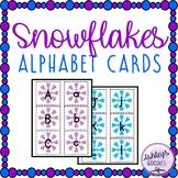 Snowflakes Alphabet Cards