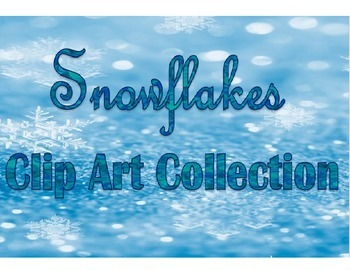 Snowflakes Clip Art Collection