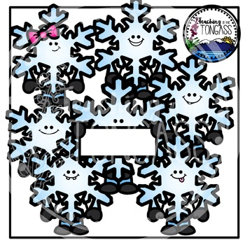Snowflakes Clipart (Winter Clipart)