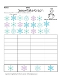 Snowflakes Counting Graph, ASL Sign Language