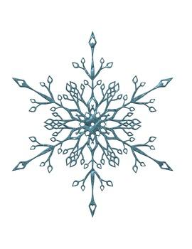Snowflakes [Cute Clips Digital Clipart]