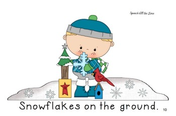 Snowflakes Everywhere: An Interactive Rhyming Book