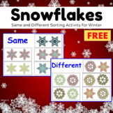 FREE Winter Activity for Autism and Speech Therapy