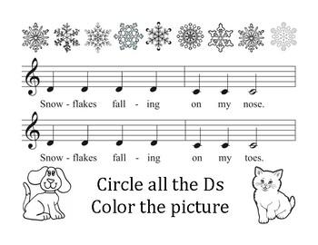 Snowflakes Falling Piano Song