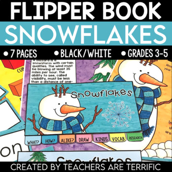 Snowflakes Flipper Book