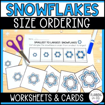 Snowflakes - From Smallest to Largest