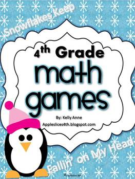 Snowflakes {Keep Falling on My Head} Math Games