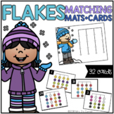 Snowflakes Matching Mats and Activity Cards (Patterns, Col