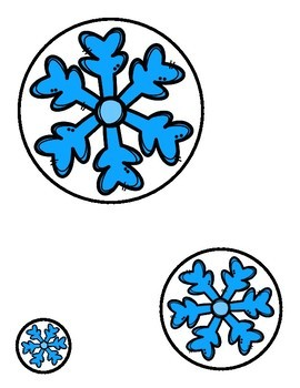 Snowflakes:  Matching Sizes