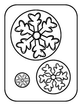 Snowflakes:  Matching Sizes