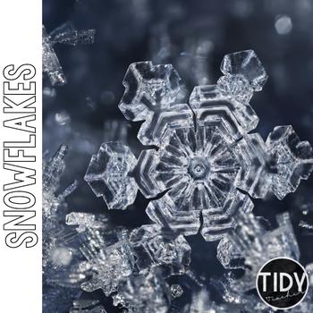 Snowflakes Online Scavenger Hunt PebbleGo Activity Sheet