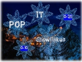 Snowflakes Pop It  Power Point Interactive Whiteboard Math Game & Brain Break