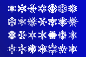 Snowflakes Svg Snowflake Svg Cut Files Christmas Decoration Winter Svg