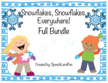 Snowflakes, Snowflakes, Everywhere! Winter Activities- FULL BUNDLE (206 pgs!)