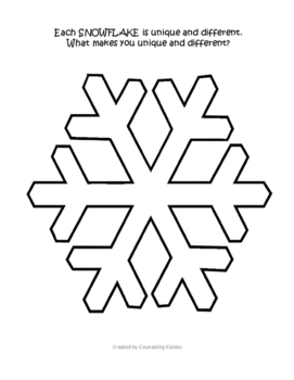 Snowflakes: What makes you UNIQUE & DIFFERENT?