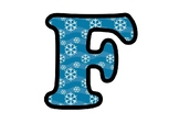 Snowflakes, Winter Bulletin Board Letters, Numbers and Symbols, Classroom Decor