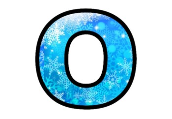 Snowflakes, Winter, Snow, Bulletin Board Letters, Classroom Decor