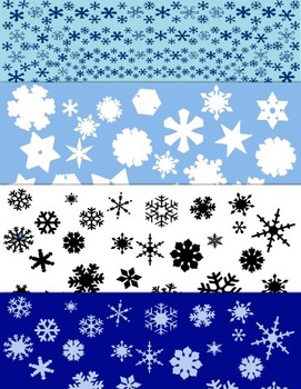 Snowflakes backgrounds