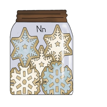 Snowflakes in a Jar - Sorting Ending Sounds
