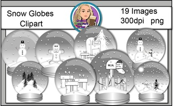 Snowglobe Clipart